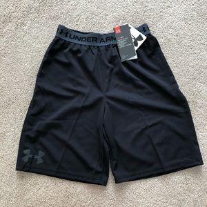 Youth boys medium under armour shorts NWT